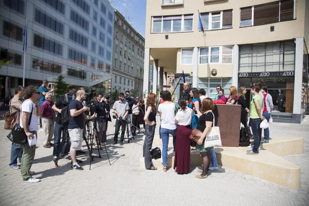 press-konferencija i akcija